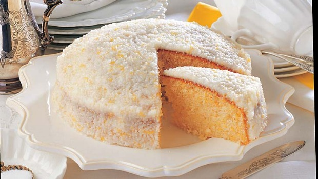 Good Layered Cake Recipes: Lemon Coconut Cake Recipe