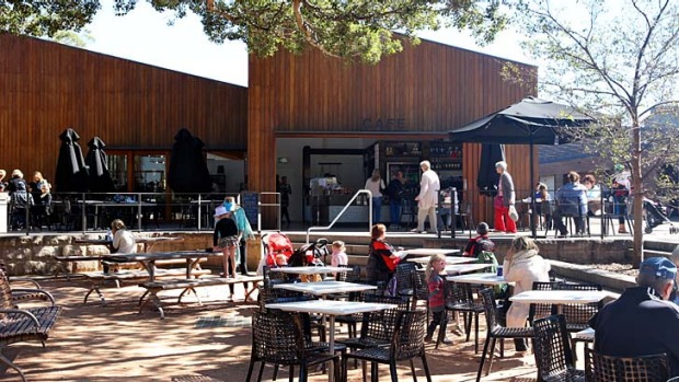Taste of the zoo: The new Taronga Piazza.