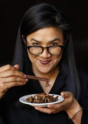 Kylie Kwong wants more Australians to try insects and native ingredients.