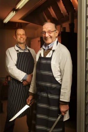 Melbourne Pantry's David Freeman (left) and David Freeman snr.