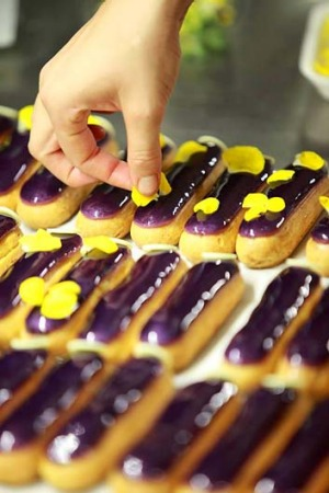 Another twist on the eclair from L'eclair de Genie.