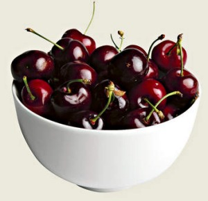 Cherries are a source of melatonin, a hormone that helps promote sleep.