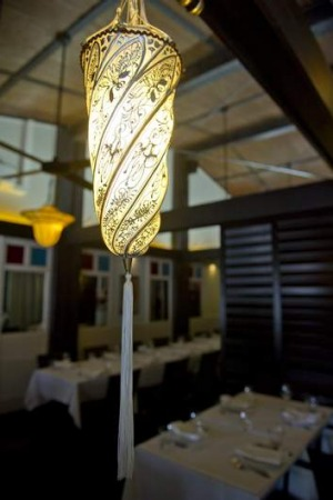 Beacon ... Lanterne Rooms is a guiding light for dining.