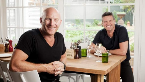 Matt Moran and Peter Sullivan.