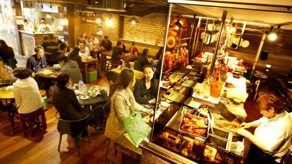 Hong Kong effect: It's not just the menu that pushes the nostalgia buttons at Old Town Hong Kong Cuisine.