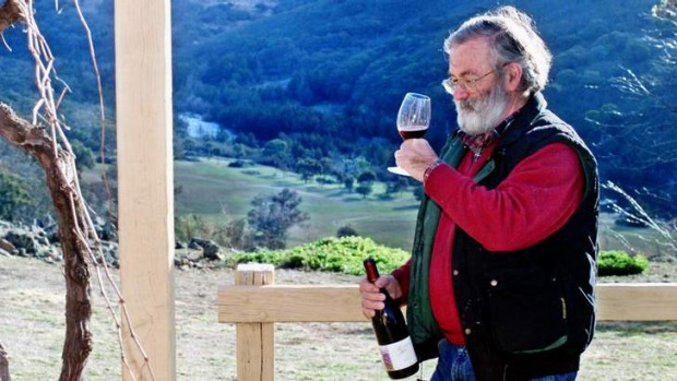 Brindabella Hills' winemaker Roger Harris who will open a cafe.