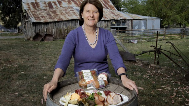Susan Bruce, of Poachers Pantry, will hold a Canberra regional dinner on October 6.
