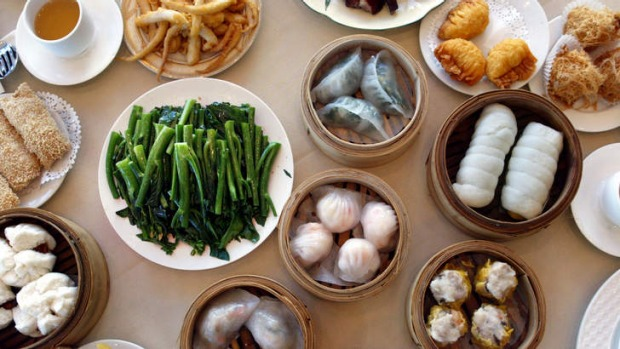 Smorgasbord: Yum Cha is a great  for children as they can see the food before they order from the trolley.