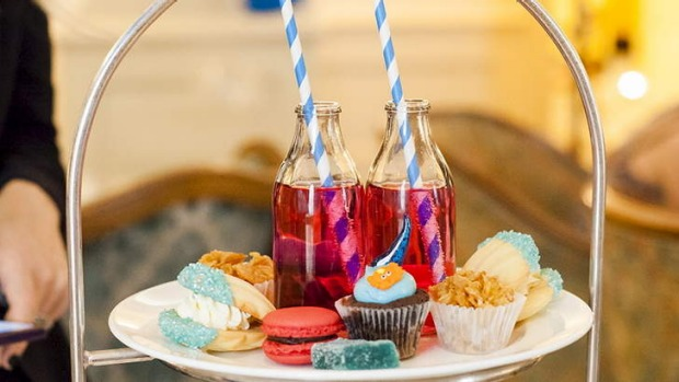 The Langham has kids in-mind this month with its Little Mermaid Tiffin Tea.