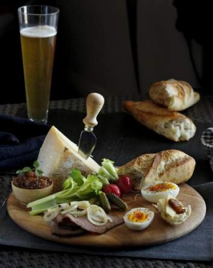 Back in fashion: With the rise of casual eating the ploughman's is  being put to work once again.
