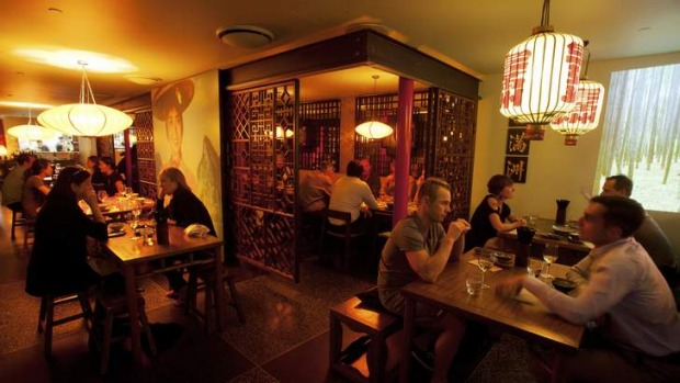 Fu Manchu's new space feels less cheeky and more charming than the original location.