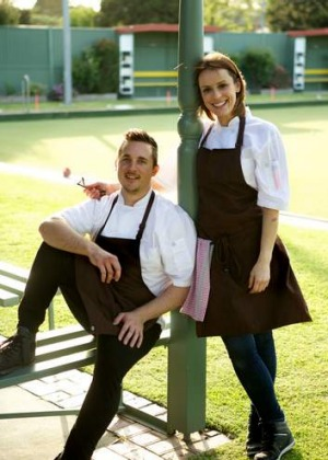 Former Vue de Monde chef Clinton McIver and girlfriend Ali Rolim Correa have taken over the kitchen at Clayton Bowls Club.