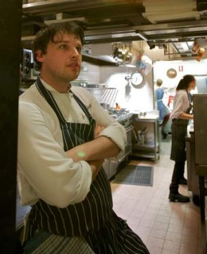 Former Claude's head chef Ben Sears.
