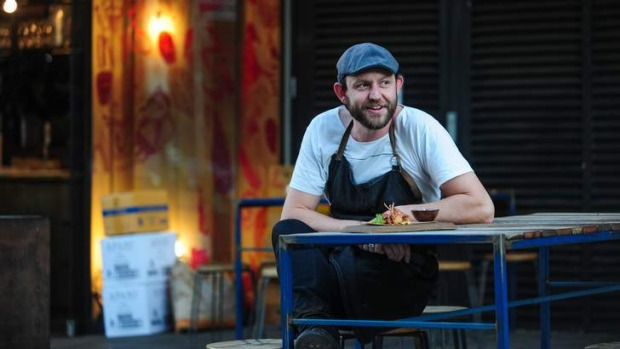 Head chef of Mocan and Green Grout, Sean McConnell, is leading the charge of restaurants in New Acton.