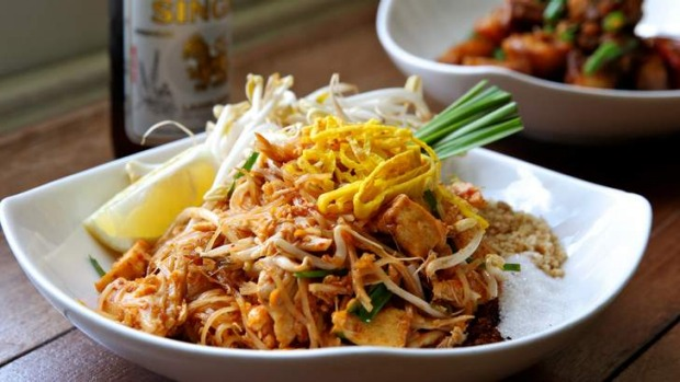 Street food ... Noodles are never served with other dishes, they're a dish on their own, often eaten for lunch or as a ...