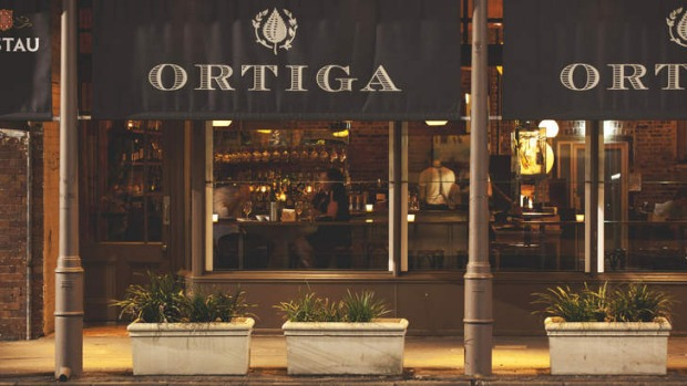Ortiga, restaurant, Fortitude Valley, Brisbane.