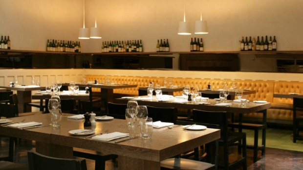 Comme Kitchen's stylish dining room.