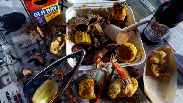 Get cracking: Low Country Boil.