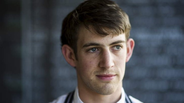 Impact ... Pulp Kitchen's new head chef, Keaton McDonnell, is delivering punchy, flavoursome dishes.