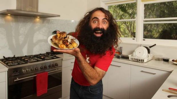 Guest ... Costa Georgiadis, host of the ABC's <i>Gardening Australia</i> will be at a locavore dinner on Saturday, ...