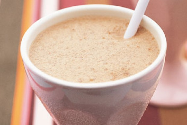 Can't choose between chocolate and caramel? This thick shake has the best of both worlds. <a ...