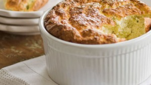 Savoury souffle: try this broccoli and ricotta recipe.