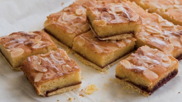 Bakewell slice (or tart) is a British favourite.