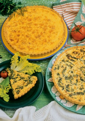 Traditional quiche lorraine recipe good food murdoch recipe article lead narrow forumfinder Image collections