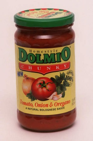 Reduced: Dolmio pasta sauce has downsized  by 75ml.