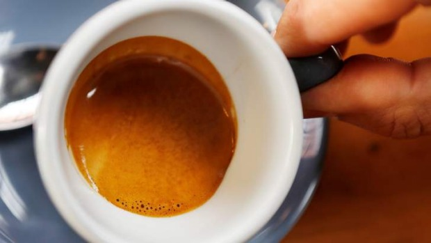 Good crema is an even layer of fine bubbles that is 'elastic'.