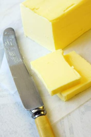 Buttering up: Ever tried making your own butter? Image from The Gourmet Farmer Deli Book by Matthew Evans, Nick Haddow ...