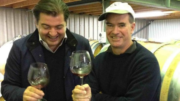 Matthew Jukes and Tim Kirk at Clonakilla. Jukes, Britain?s foremost expert on Australian wine, will be at Old Parliament ...