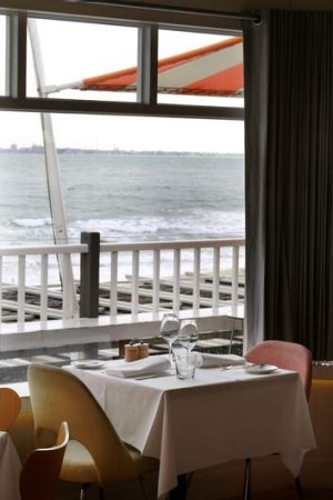 Views of a different kind ... The Stokehouse in Melbourne.