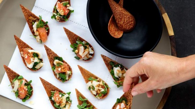 20 ways to throw a great party for Mini prawn cocktail canape