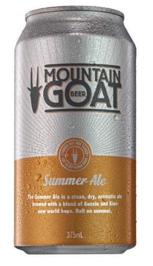 Mountain Goat Summer Ale, 4.7 per cent.