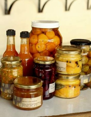 Cornersmith's pickled products.