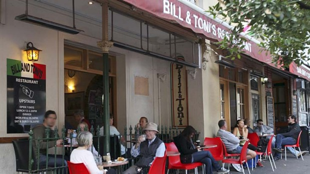 Sold: Bill & Toni's in Stanley Street, Darlinghurst.