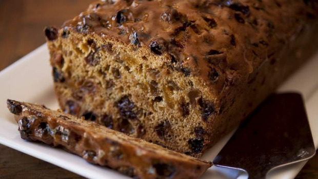 Bara brith, or speckled bread, is a Welsh fruit loaf that is handy to keep in the cake tin.