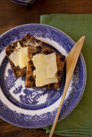 Perfect with a cuppa ... Bara Brith (speckled loaf).