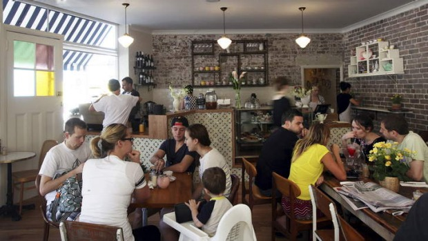 The Pig and Pastry is a cosy and brightly lit cafe.
