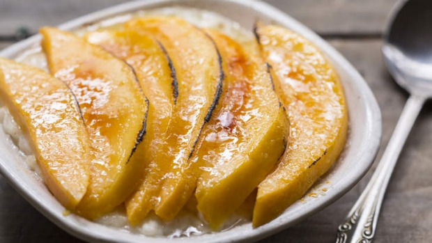 Rice pudding - an easy dessert for the time-poor - is made extra special with mango.