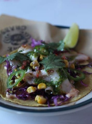 Go-to dish: Octopus taco.