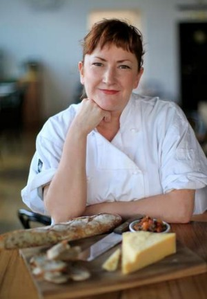 Philippa Sibley is leaving the restaurant.
