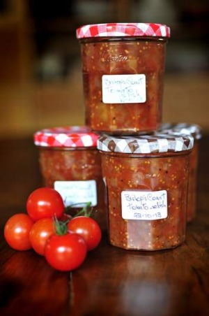 Bishop's Court tomato relish.