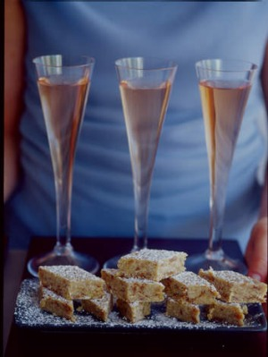 Eat, drink: Moscato and dried fig fudge.