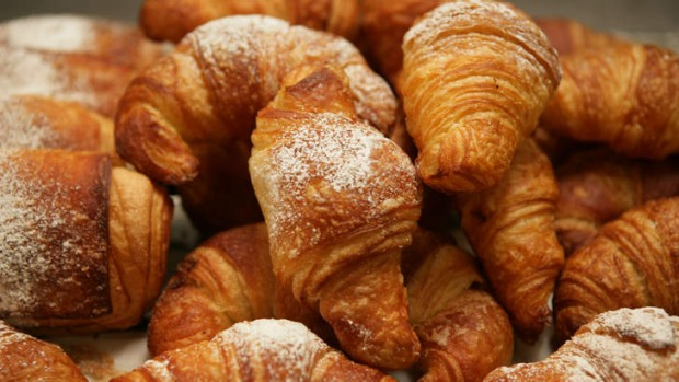 Good as gold: Croissants, the ultimate in buttery indulgence.