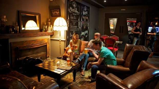 Cosy and comfortable: Spring St Social bar and restaurant.