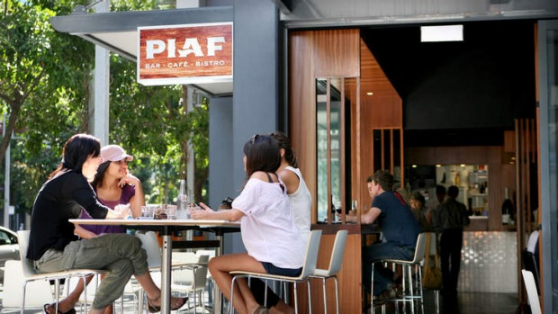 Piaf restaurant, South Bank.