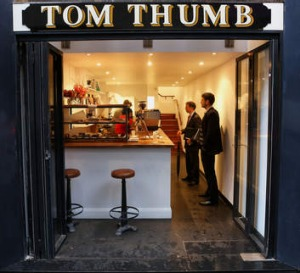 The aptly named Tom Thumb.