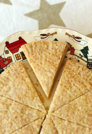 Diana Lampe's Scottish shortbread.